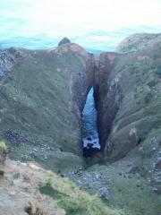 The Zawn at the bottom of Lover's Leap.