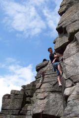 Mark, Manchester Buttress, HS 4b ***