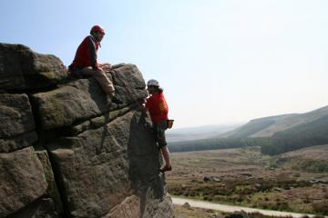 Lili's first day out at Burbage North