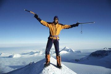 Summit of Mt Shinn