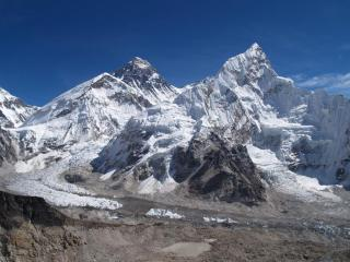 Everest From The Summit Of Kalar Pattar