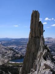 Descending the Eichorn Pinnacle