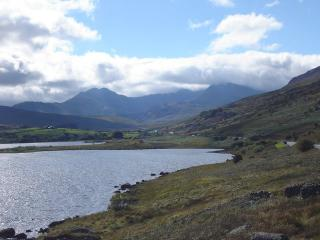Snowdon horseshoe, from Capel Curig