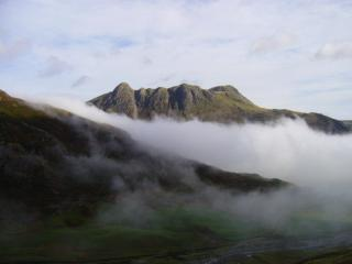 The Langdales from Crinkle Crags