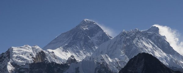 Everest and Lhotse from Gokyo Ri