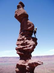 ancient art , fisher towers, utah 2004