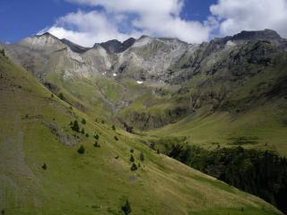 West face of Pico Posets from near Viados, Spanish Pyrenees