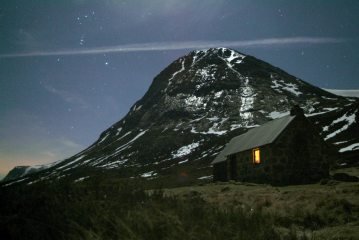 Corrour Bothy and Devils Point