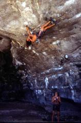 3rd ascent of Thai 8b+