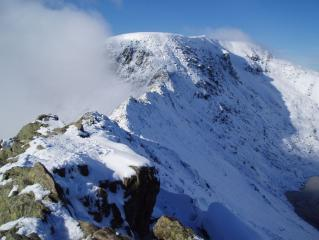 helvellyn during winter