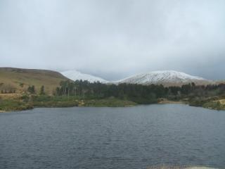 View from the reservior, Pen y Fan in the distance