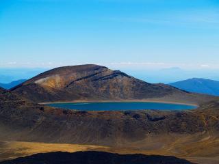 Blue Lake, Tongarriro, Aotearoa.