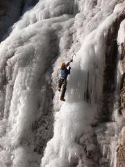 Italian Icefall, near Slovenia...