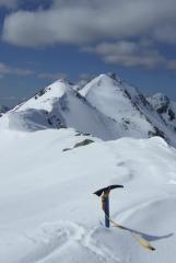 Sgurr nan Spainteach, Five Sisters Ridge