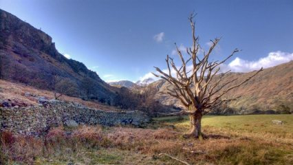 Langdale from the Cumbria way