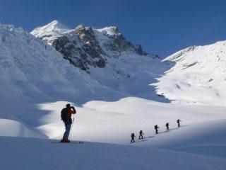 Touring in the Bernina alps