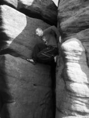 a rock & a hard place