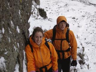 Winter climbing in the Lakes...