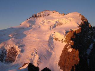 Barre des Ecrins and Dome de Neige