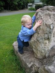 First boulder!