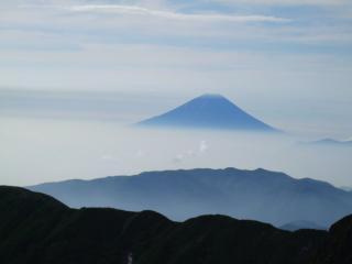Fuji san from Kitadake