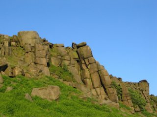 tower crack stanage