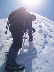 Rob on the Bosses Ridge