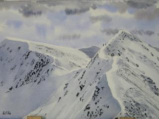 The Devils Ridge From Sgurr A'Mhaim